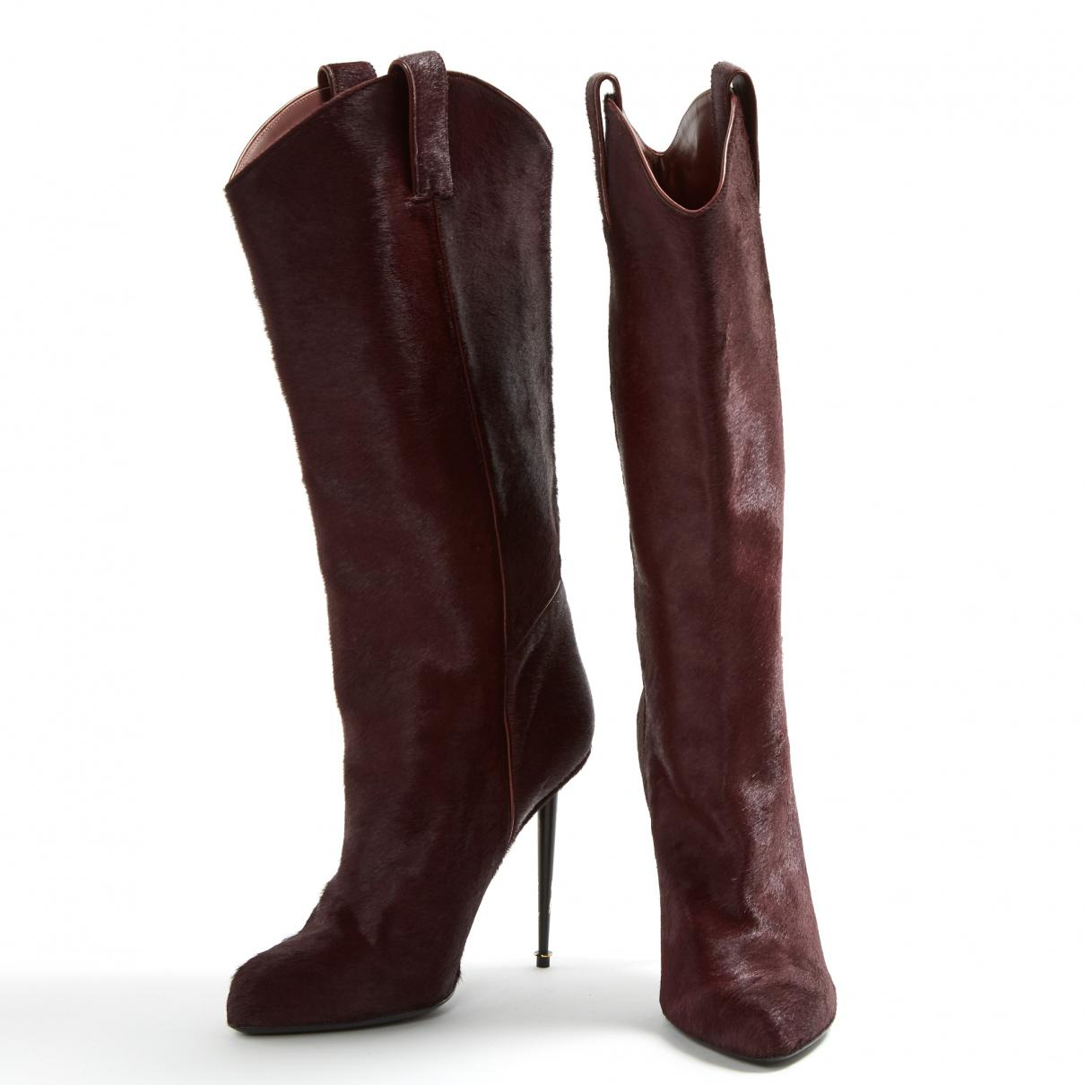 Tom Ford Pony-style Calfskin Boots BVXpg1