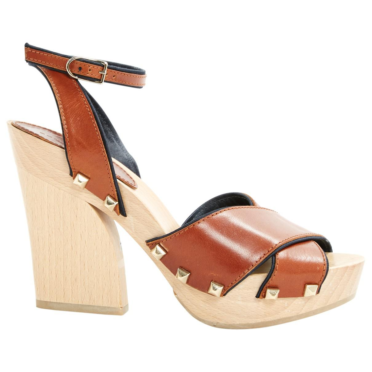 Sonia by Sonia Rykiel Leather Sandals Clearance Footlocker Excellent Online Clearance Discount Discount Real Buy Cheap Outlet Locations twybik5Tu
