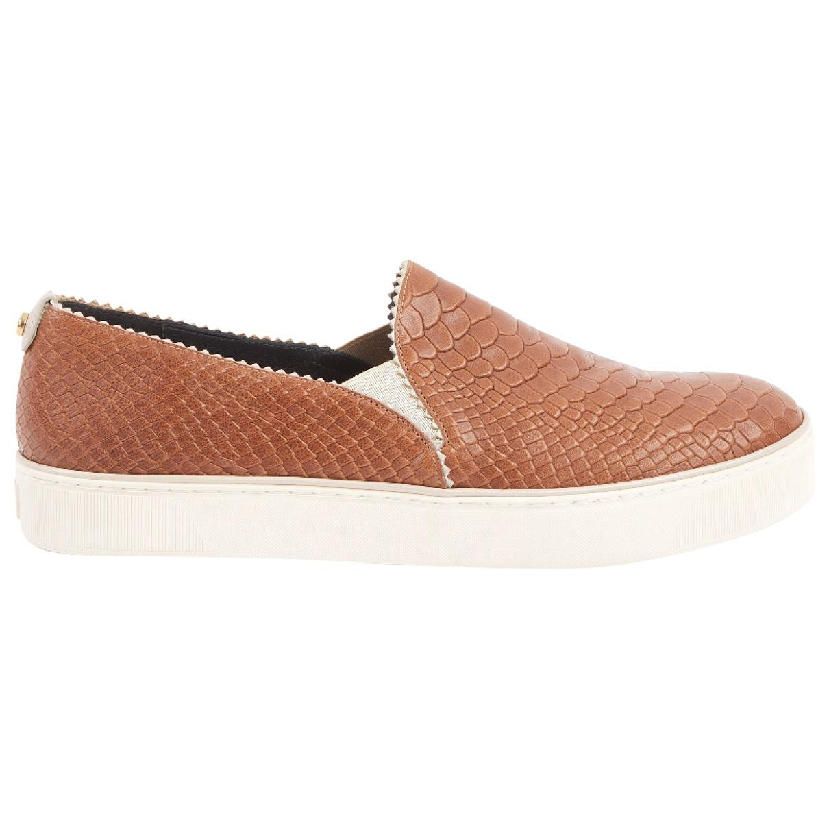 Pre-owned - Leather trainers Stuart Weitzman 3aP8SRs