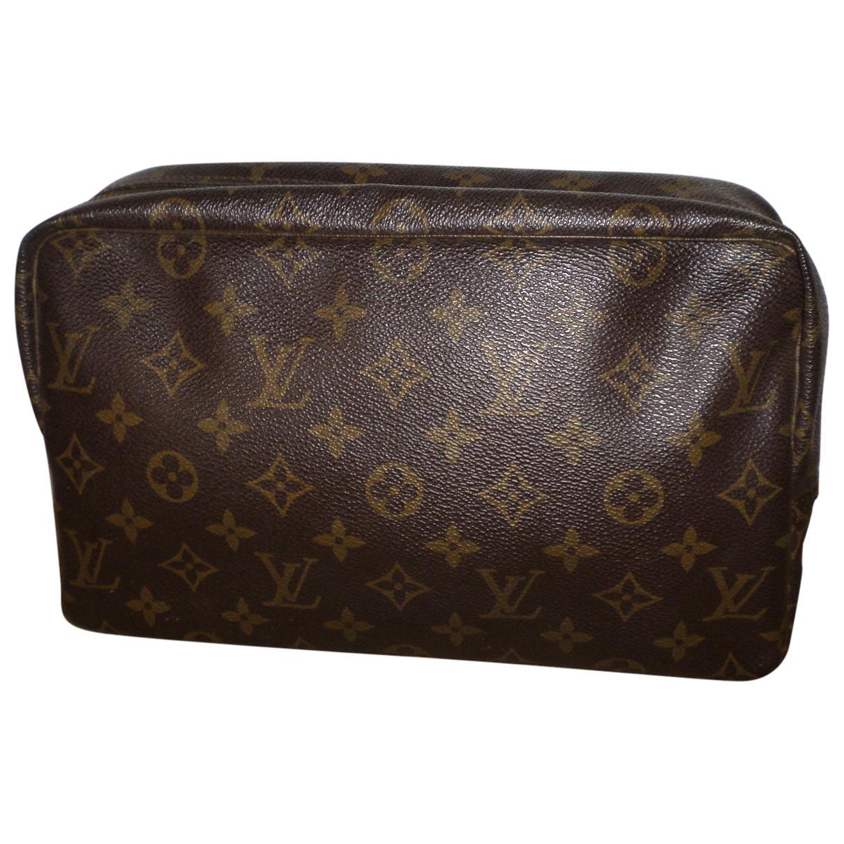 Louis Vuitton Pre-owned - Cloth vanity case q5scjZR8x