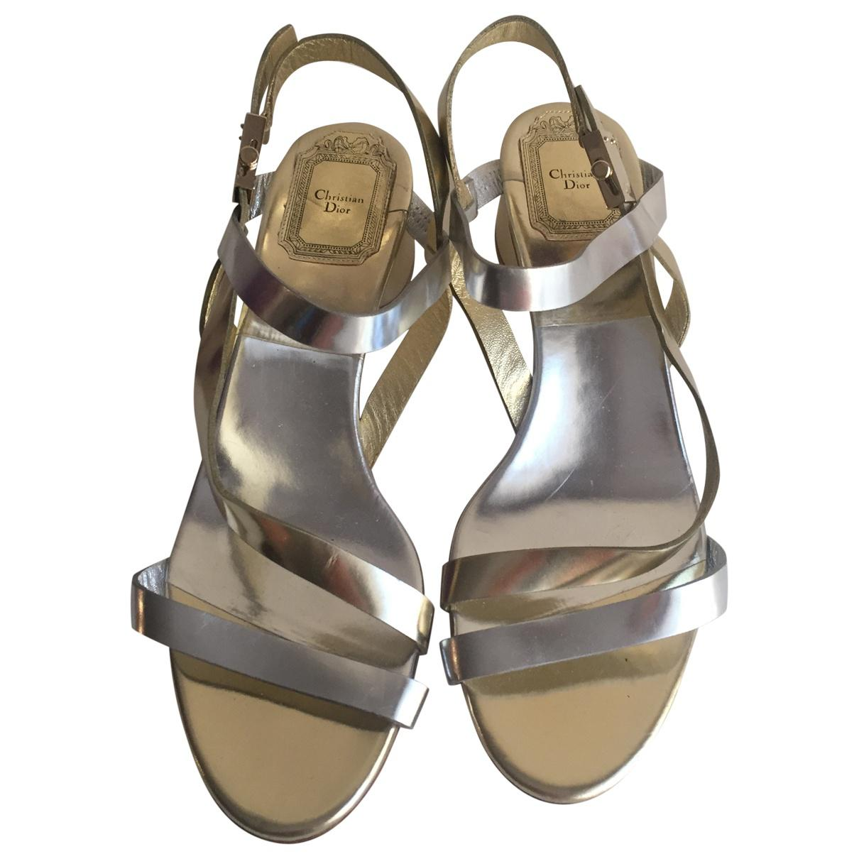 a3be0476173 Dior. Women s Multicolour Leather Sandals