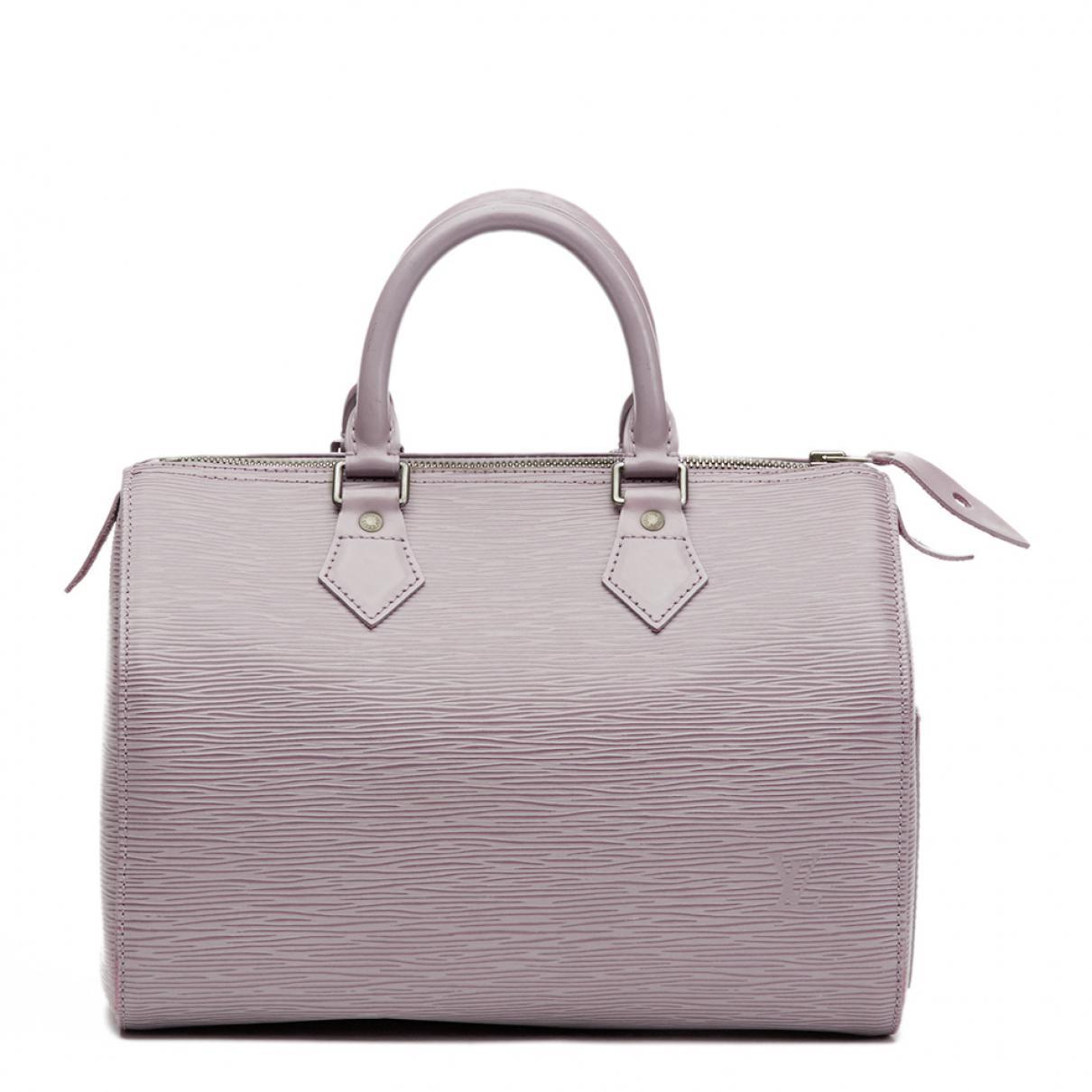 Pre-owned - Speedy leather handbag Louis Vuitton ehsiP