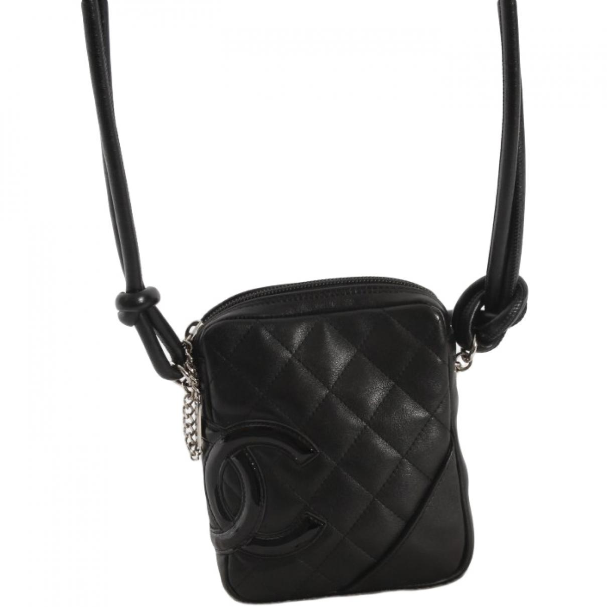 89cb90b703ea Chanel Pre-owned Cambon Crossbody Bag in Black - Lyst