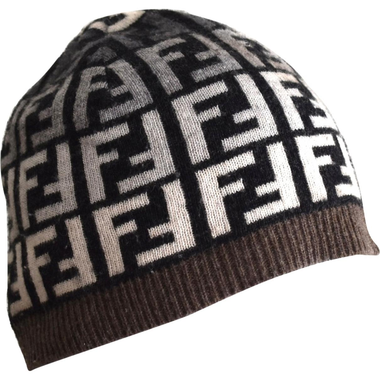 7ba290604e6 Fendi. Women s Pre-owned Vintage Brown Wool Hats.  176 From Vestiaire  Collective