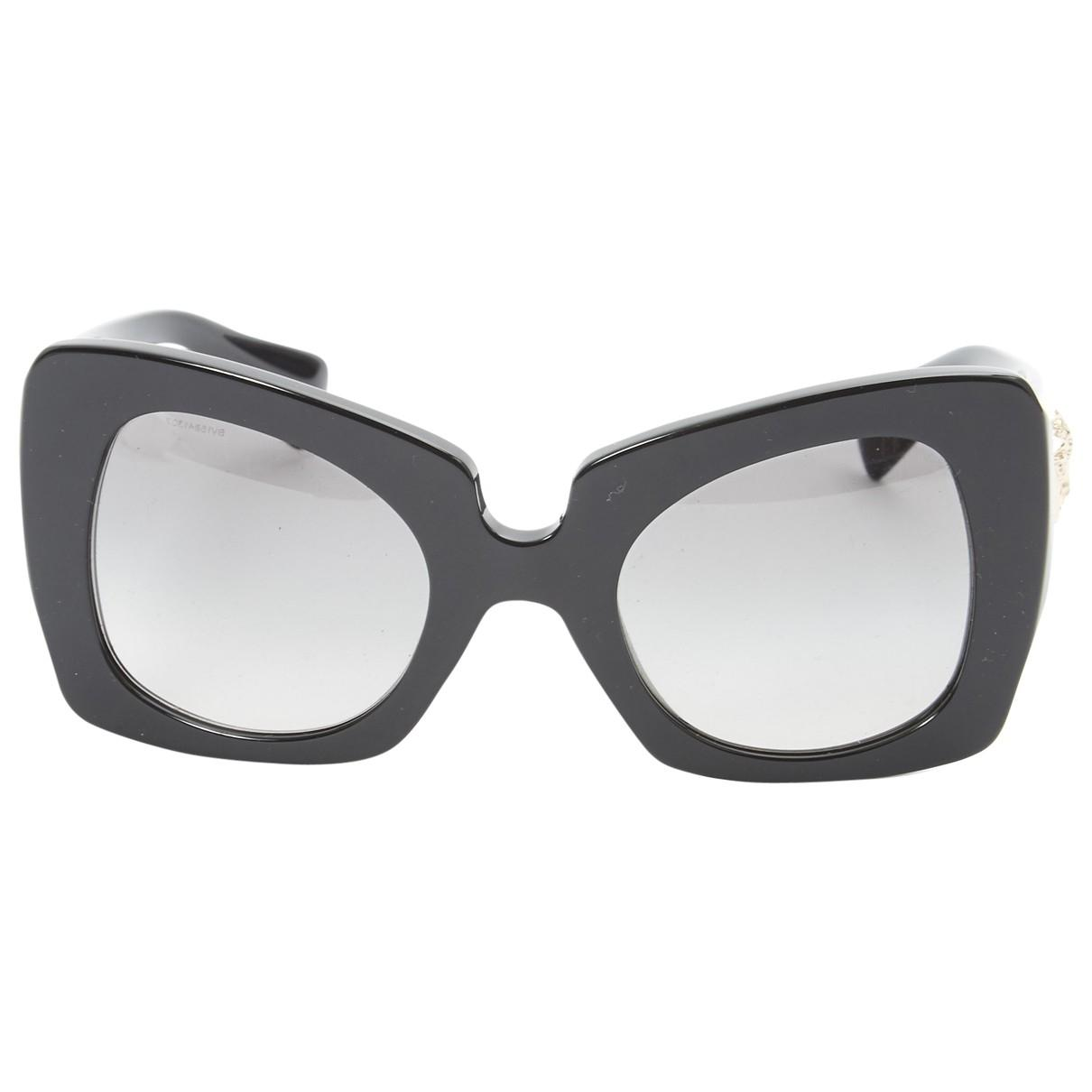 e69df029b2 Lyst - Versace Sunglasses in Black