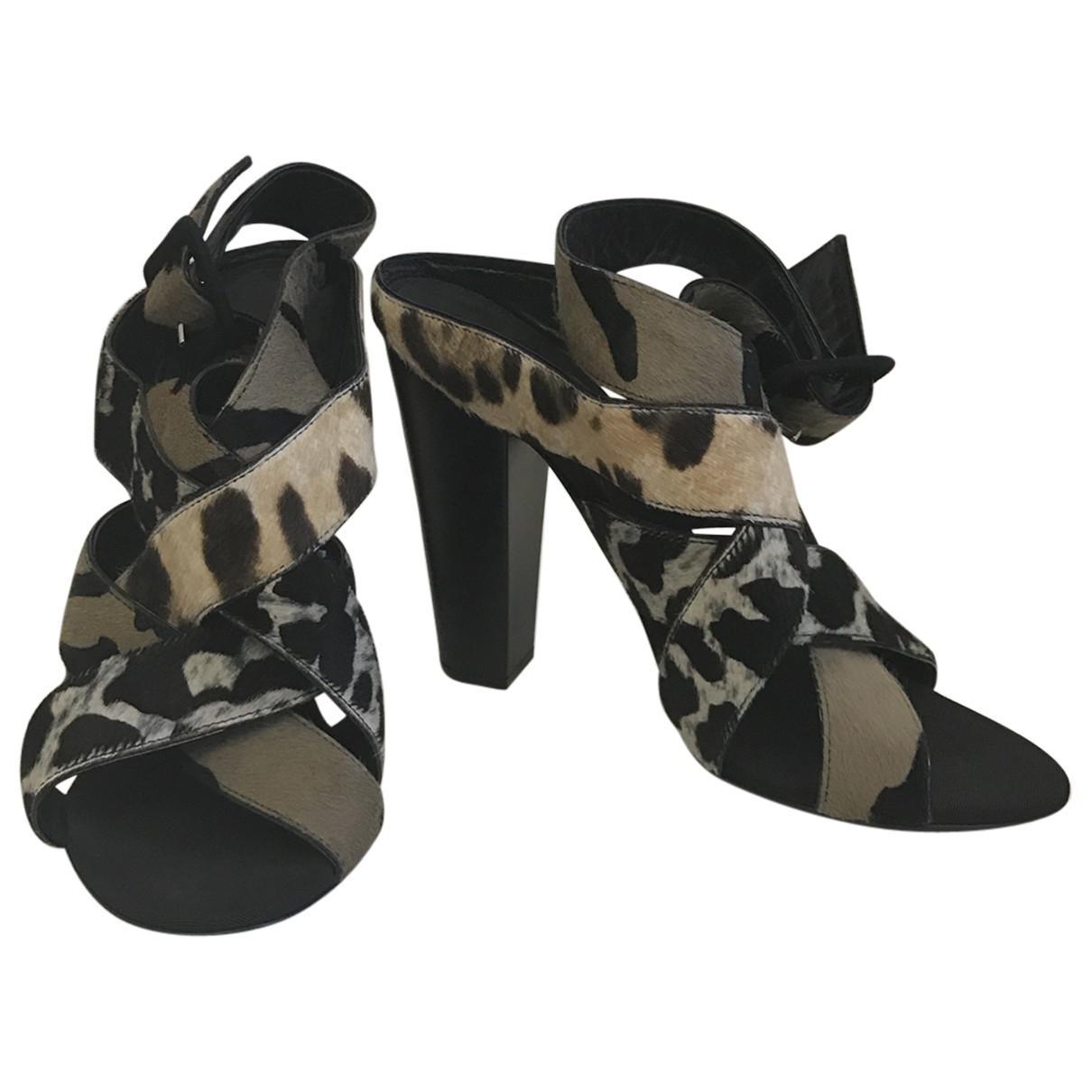 Giuseppe Zanotti Pony-style Calfskin Sandals e34M2amwu