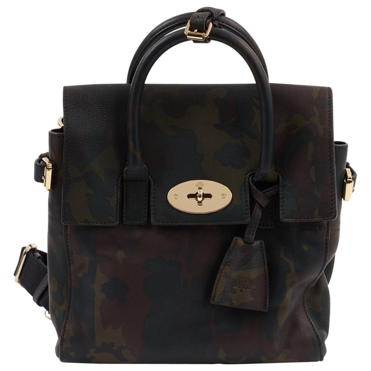 b575ecfe1600 Mulberry. Women s Pre-owned Cara Delevigne Brown Leather Handbags.  981   883 From Vestiaire Collective