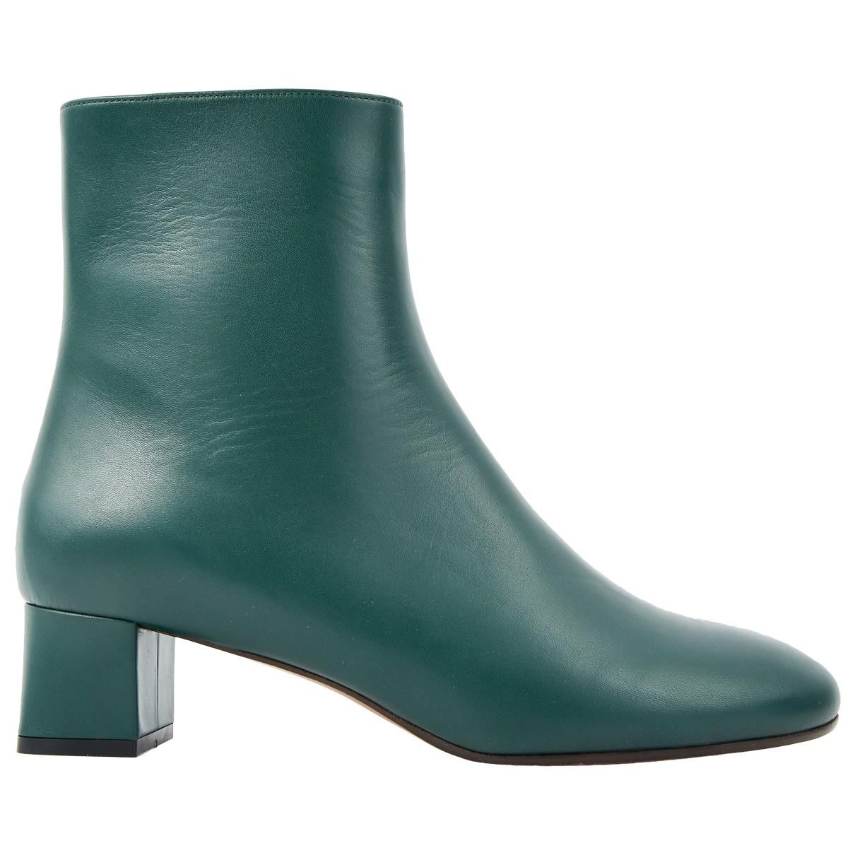Pre-owned - Leather ankle boots Marni Amazon Cheap Price Free Shipping Discounts 3R8h1PyG7b