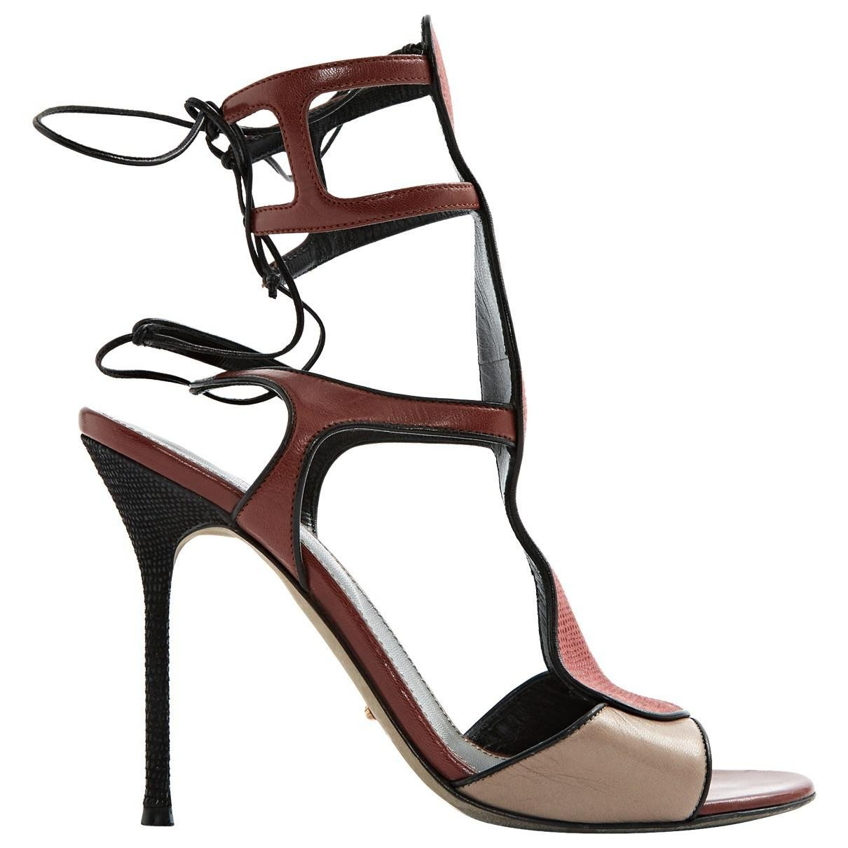 Pre-owned - Leather sandals Sergio Rossi nDOzyi