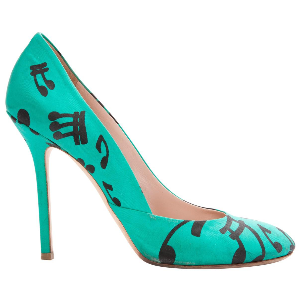 Pre-owned - Cloth heels Miu Miu For Sale The Cheapest Limited Edition Cheap Price Fast Delivery Cheap Online Visit Online nPquXLx
