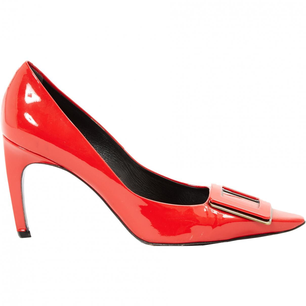 Pre-owned - Patent leather top Roger Vivier xytyGEfeB
