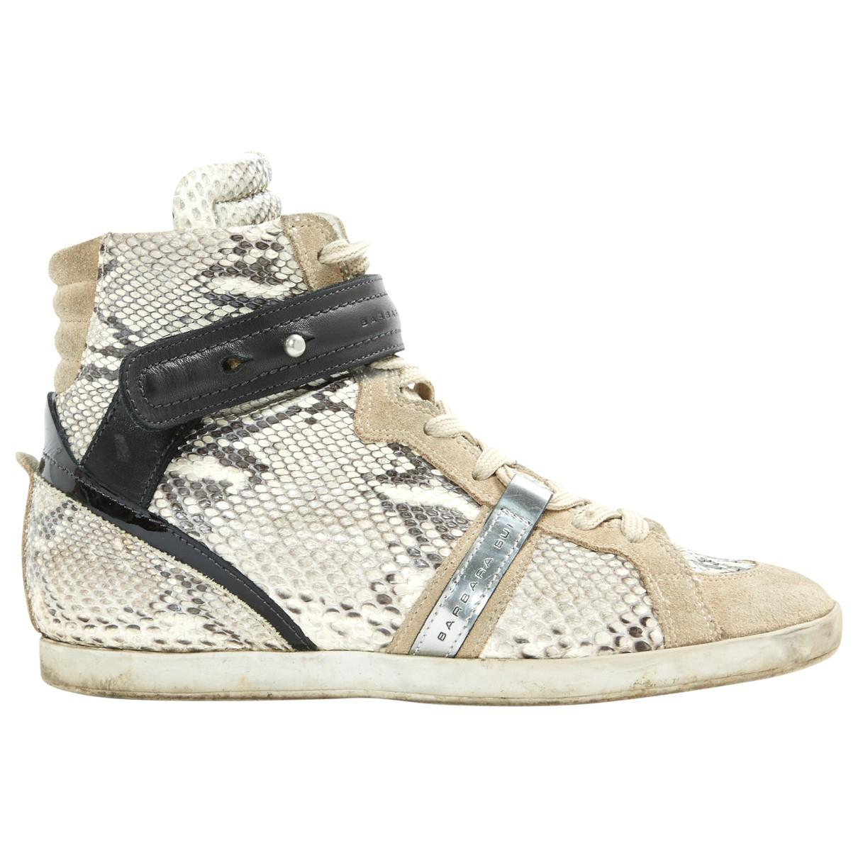 Pre-owned - Leather trainers Barbara Bui 83To64qh
