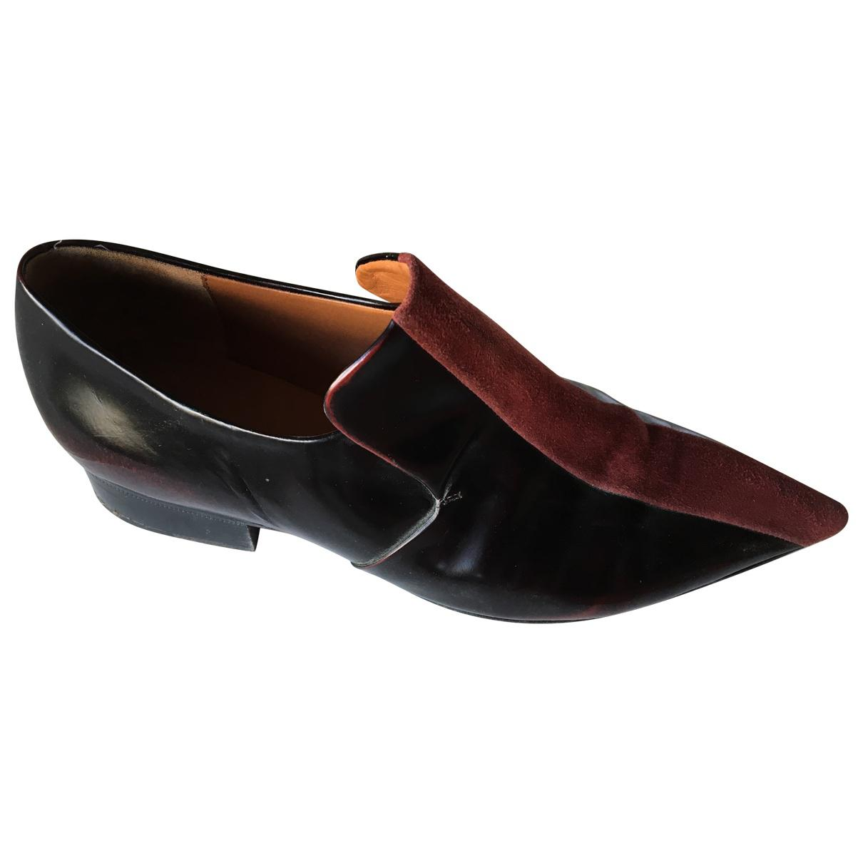 Pre-owned - Patent leather flats Celine Sbg6Arn
