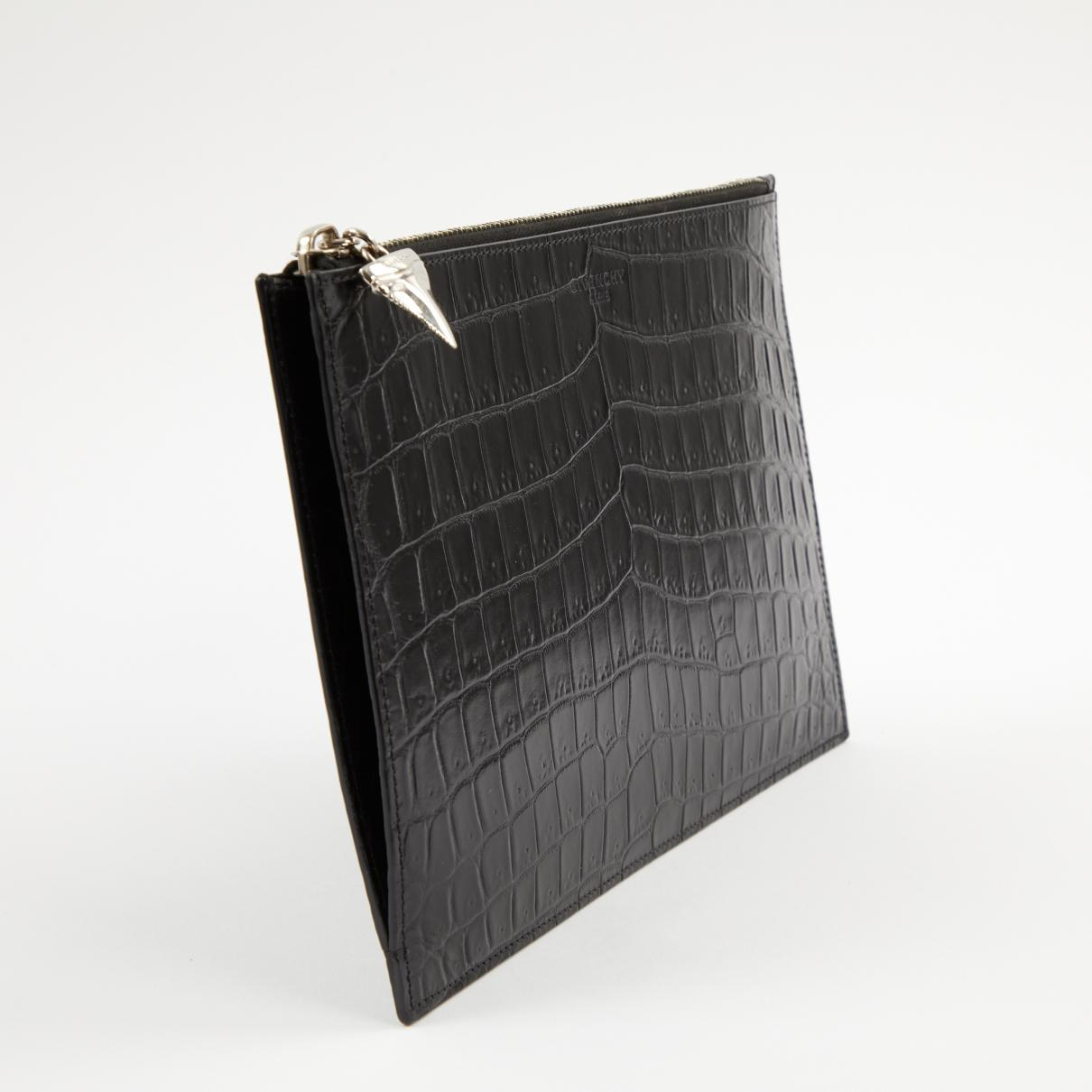 Givenchy - Black Leather Clutch Bag - Lyst. View fullscreen 8da5f1ae28607