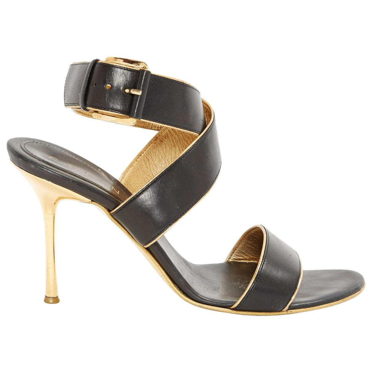 Pre-owned - Leather sandals Celine Cheap Cheap Online JehSo5k0