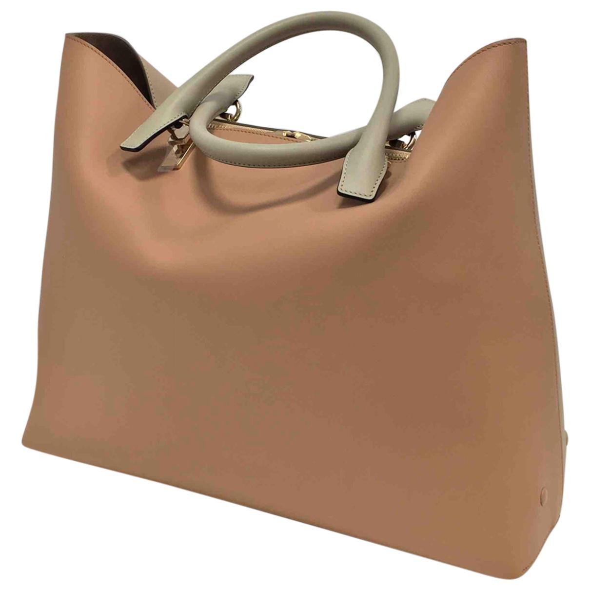 Pre-owned - Baylee leather handbag Chlo U1q57I