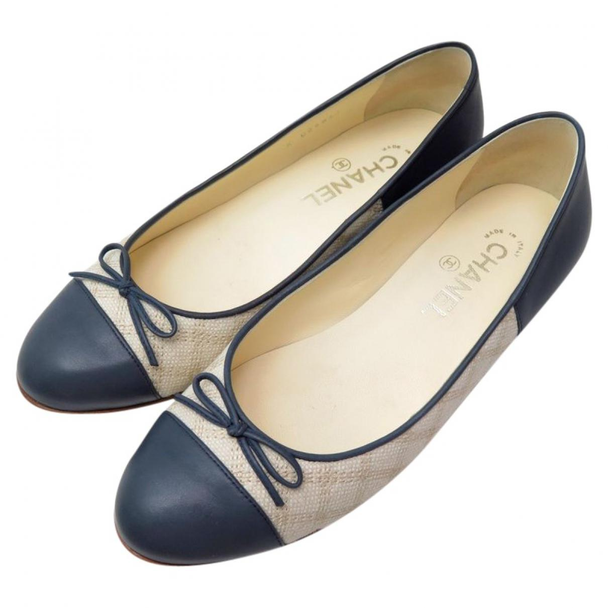 Pre-owned - Cloth ballet flats Chanel eXSCDJGzy