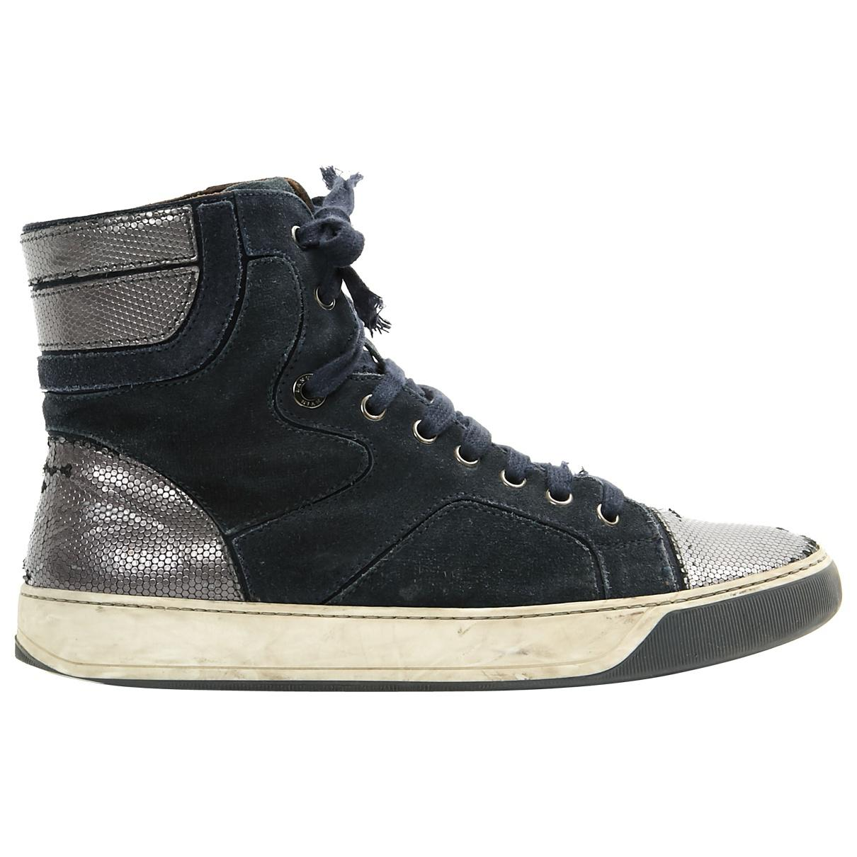 Pre-owned - High trainers Lanvin vfSlTpVUkm