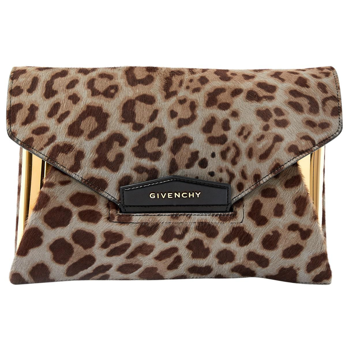 Givenchy Pre-owned - Pony-style calfskin clutch bag u0rb5l