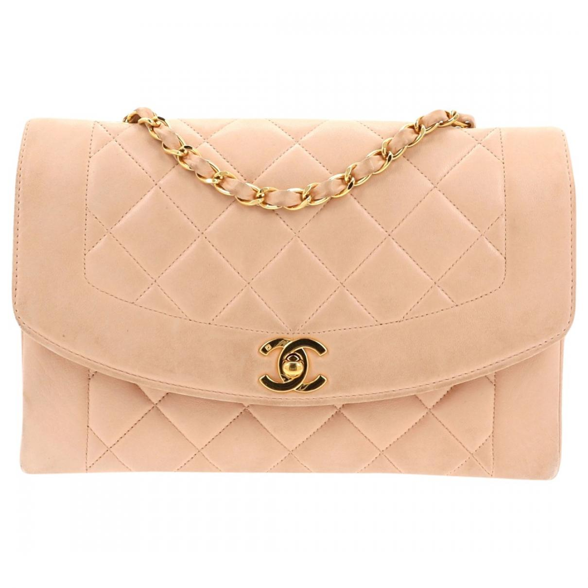 f56a2ea96775b7 Chanel. Women's Vintage Diana Pink Leather Handbag. £1,983 From Vestiaire  Collective