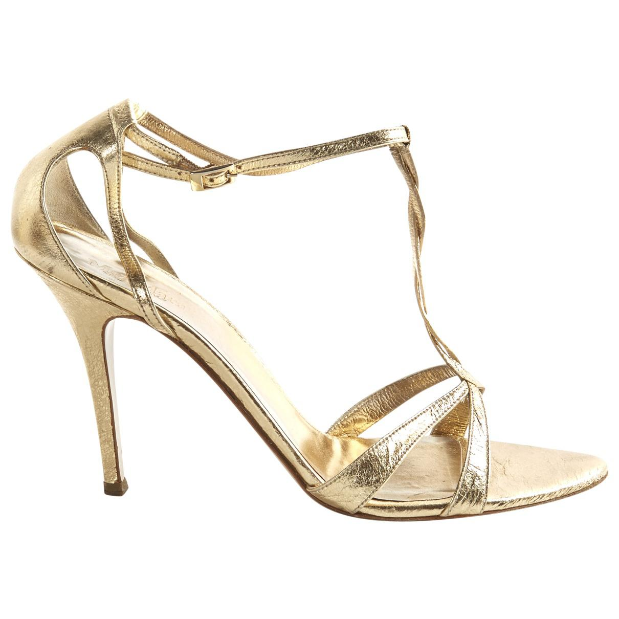 Pre-owned - Leather sandals Max Mara Xc1Y9LB