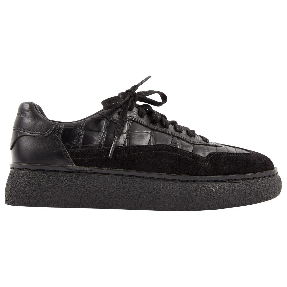 Pre-owned - Leather trainers Alexander Wang rJlLotCUx