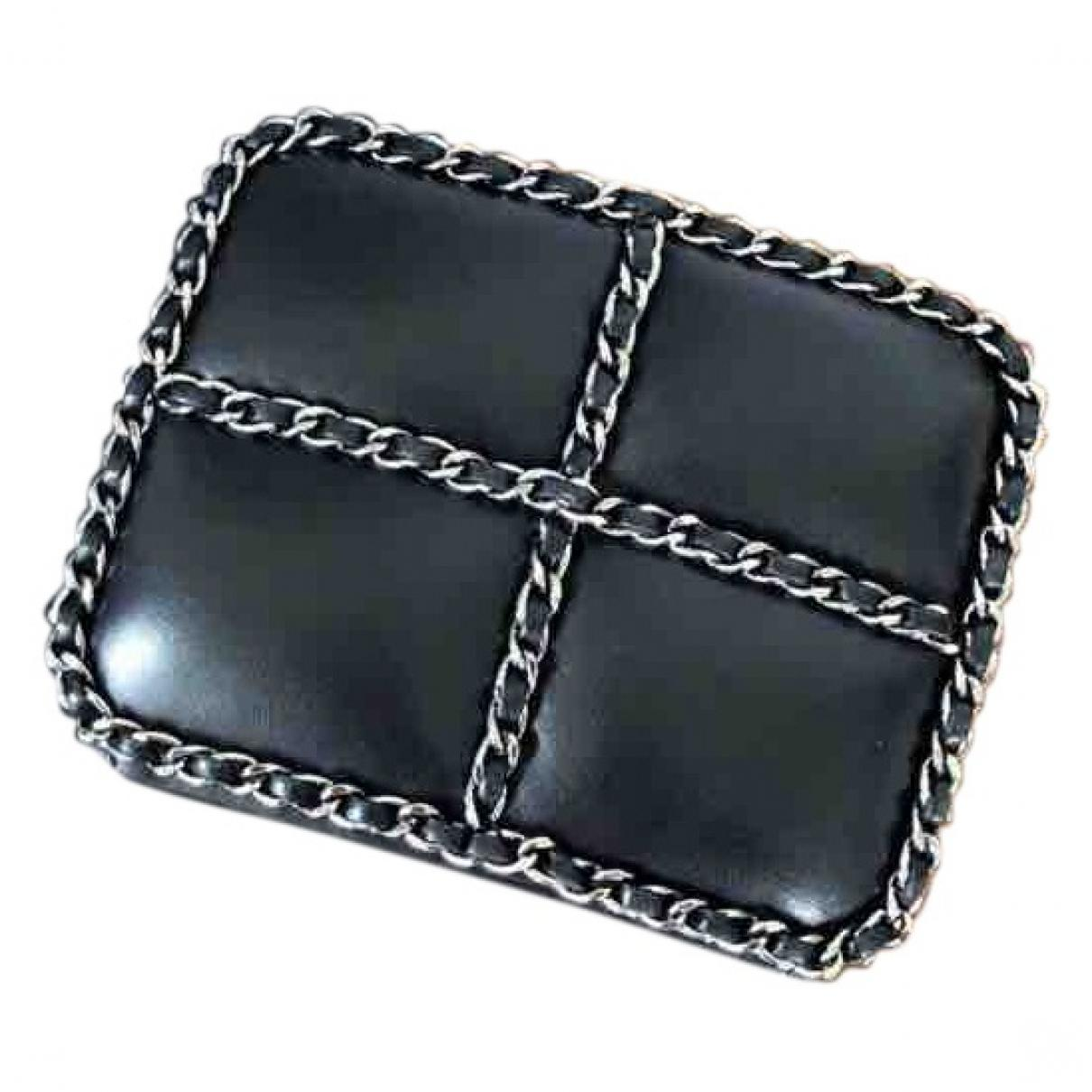 163edfe45ee4 Chanel. Women's Black Leather Clutch Bag. £3,500 From Vestiaire Collective