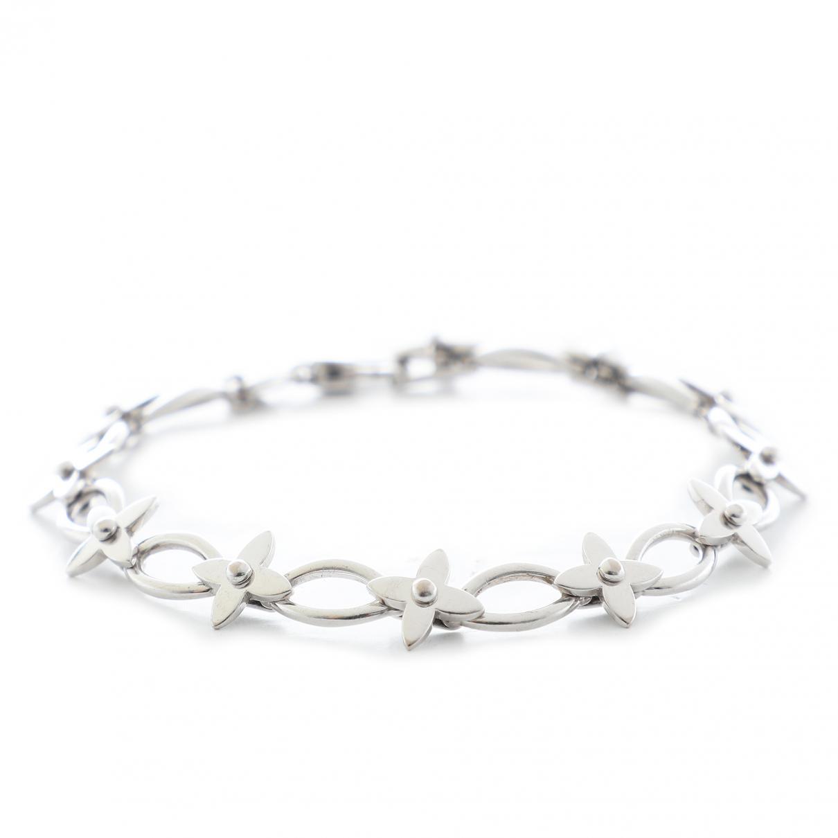 b59ef80598e7 Louis Vuitton - Metallic Idylle Blossom White Gold Bracelet - Lyst. View  fullscreen