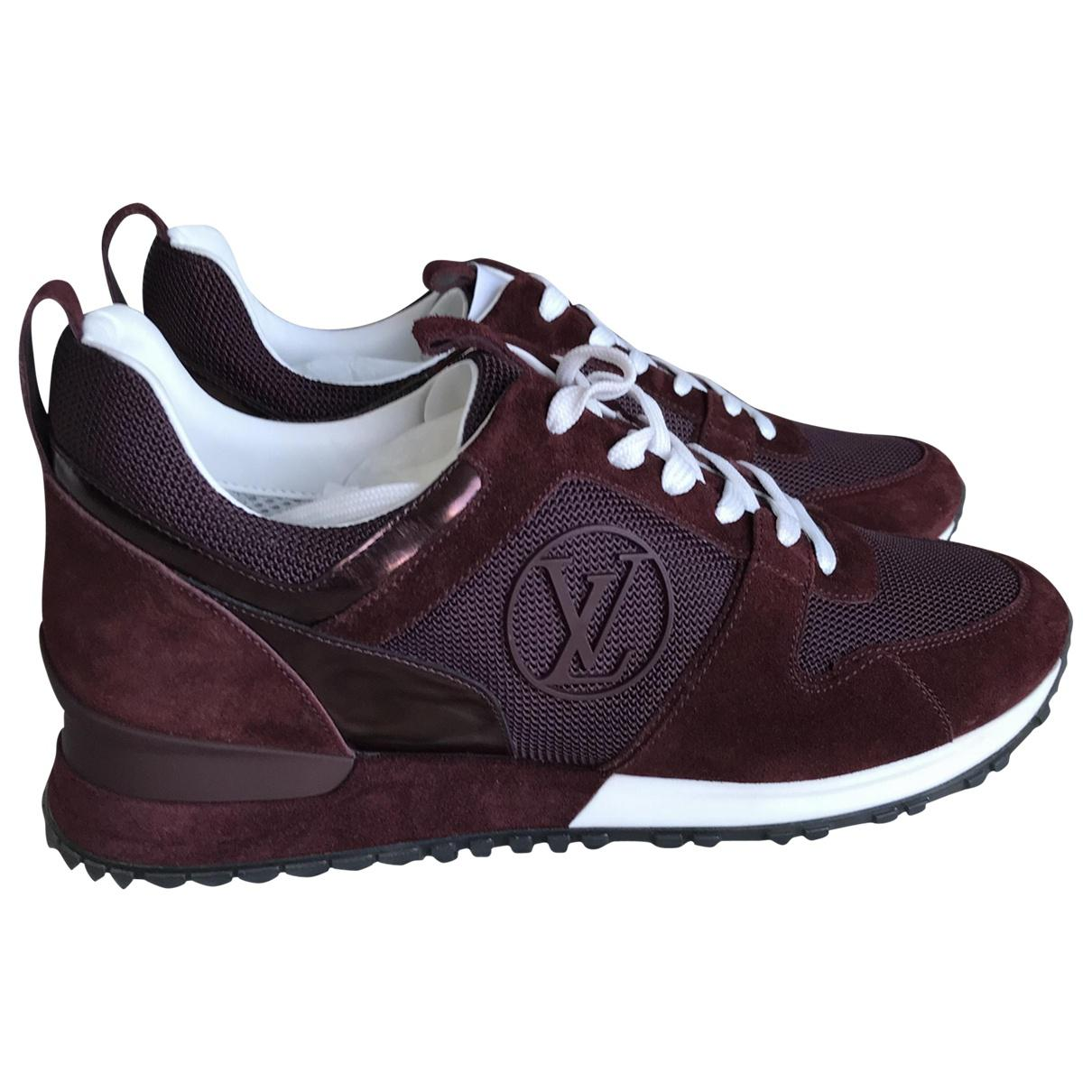 a05c1adc7881 Louis Vuitton Leather Trainers in Purple - Lyst