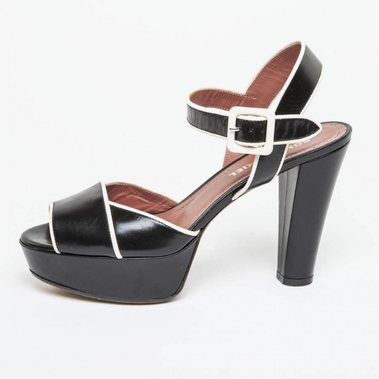 Pre-owned - Leather sandals Sonia Rykiel B1JT8Aw39W