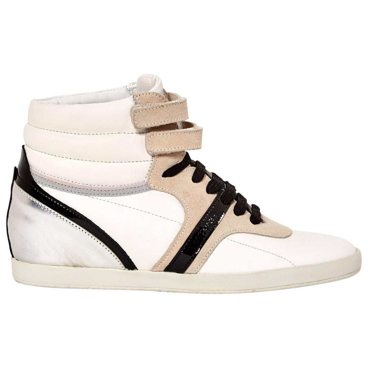Pre-owned - Leather trainers Sergio Rossi 9sVYDi
