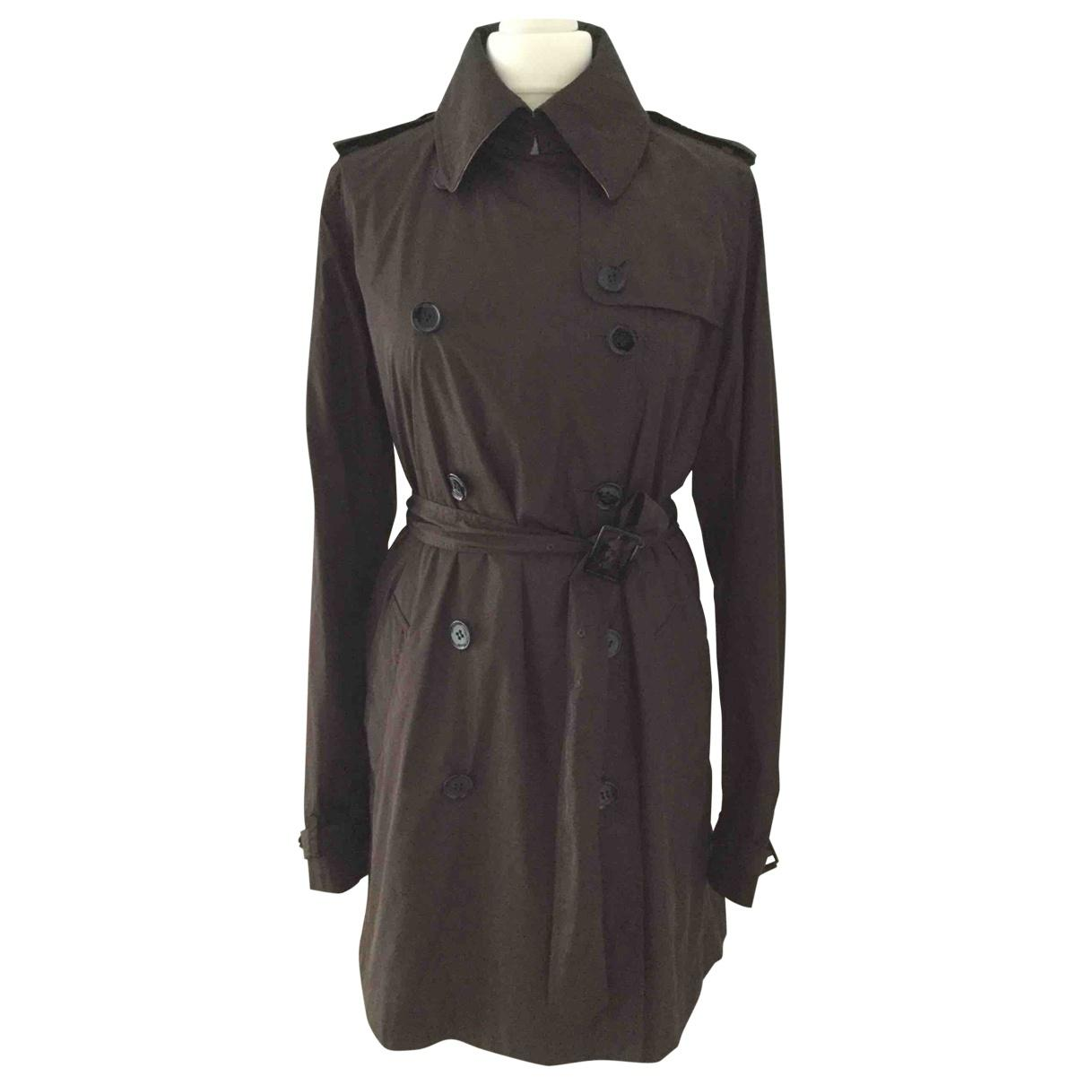 68cf547984ce Burberry. Women s Brown Pre-owned Trench Coat. £264 From Vestiaire  Collective ...
