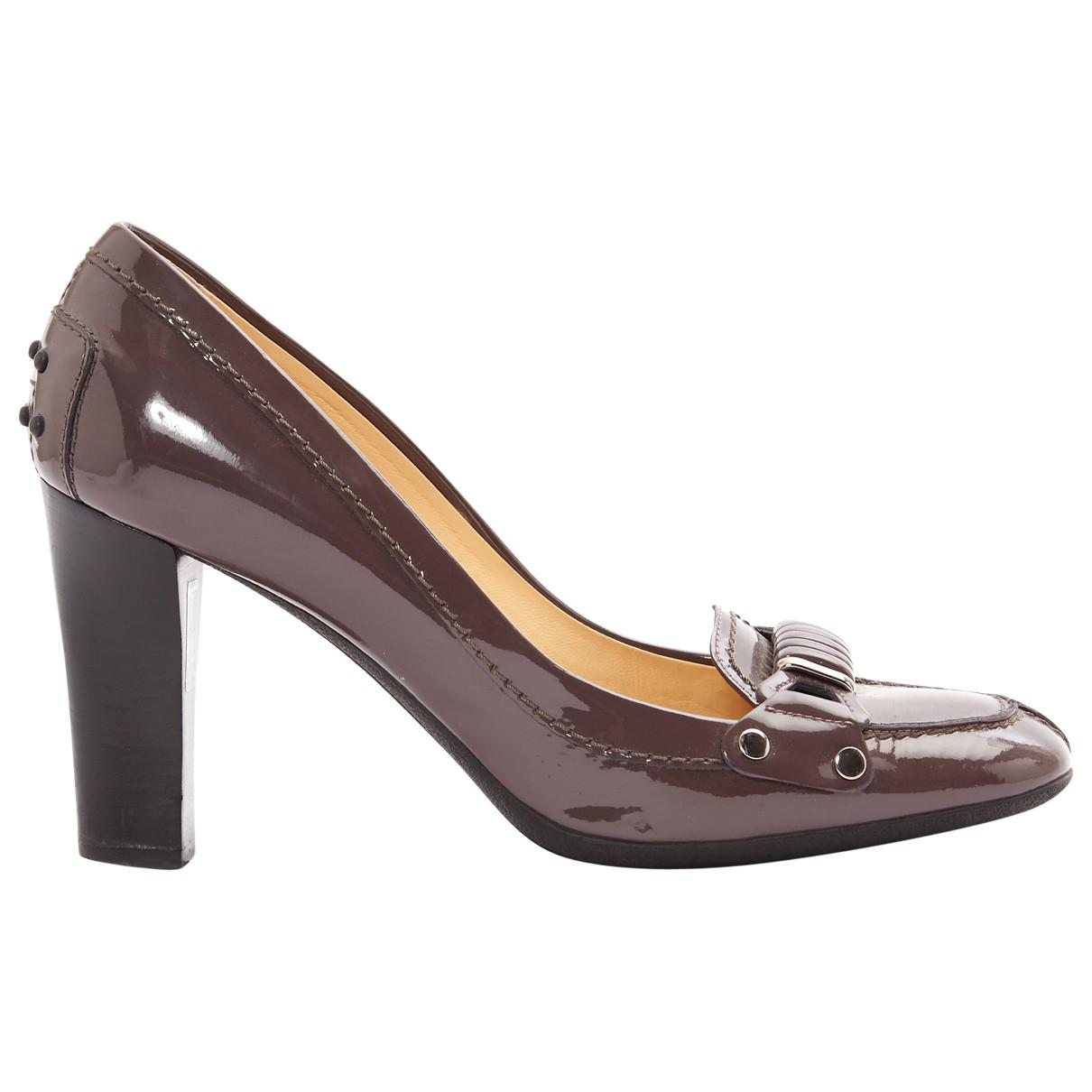 Pre-owned - Patent leather heels Tod's ex09f2VrhL
