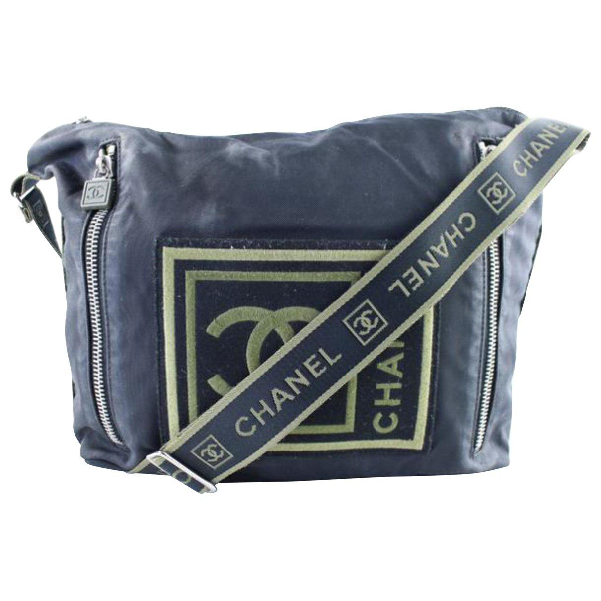 Lyst - Chanel Crossbody Bag in Blue 44be65e7f1d