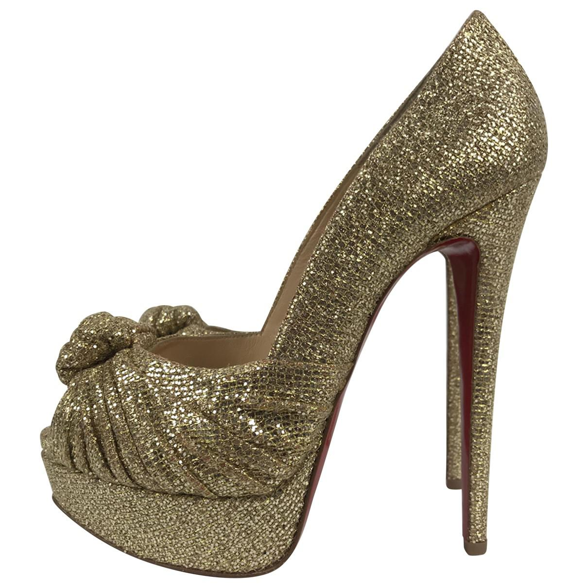 Pre-owned - Glitter heels Christian Louboutin