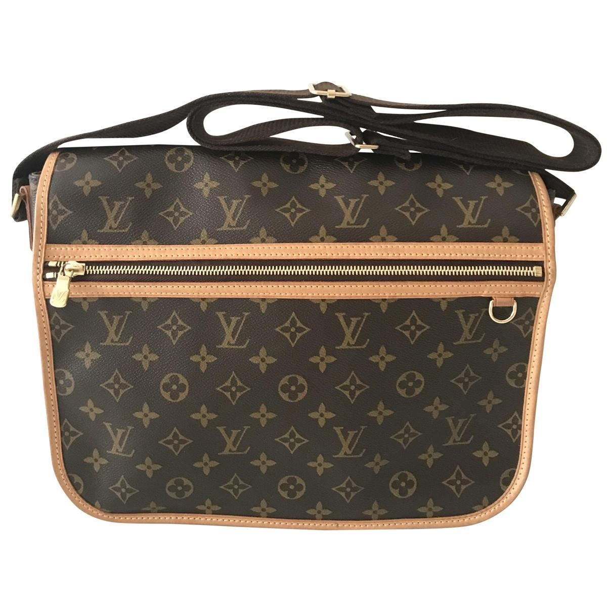 5c13f333b603 Louis Vuitton Bosphore Other Cloth Bag in Black for Men - Lyst