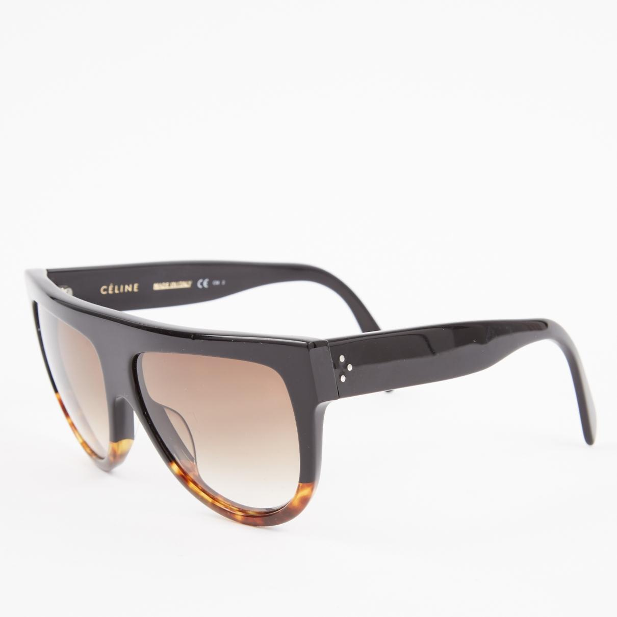 6623fc81c5a Céline - Black Plastic Sunglasses - Lyst. View fullscreen