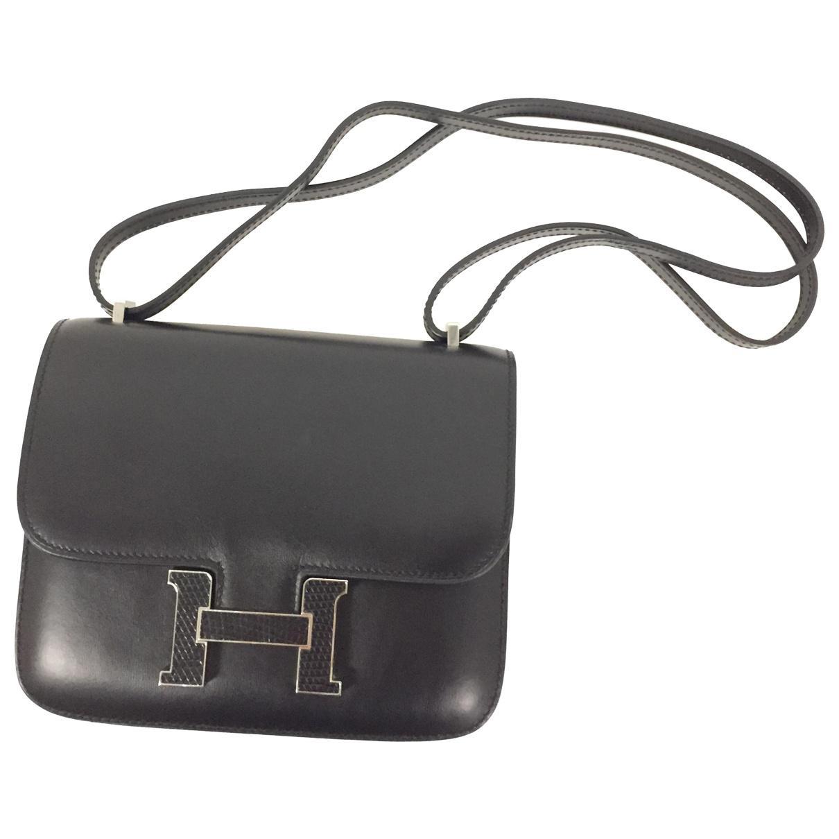 fdb0caf77d ... order hermès. womens black constance lizard bag 5afe6 15cfd