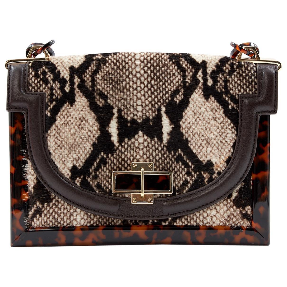 343254c32445 Tory Burch. Women s Multicolour Pony-style Calfskin Handbag