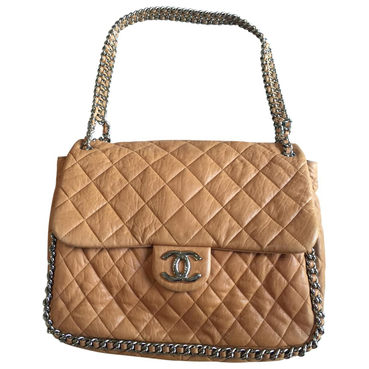 4fbef37113f8 Lyst - Sac à main Timeless en cuir Chanel en coloris Marron