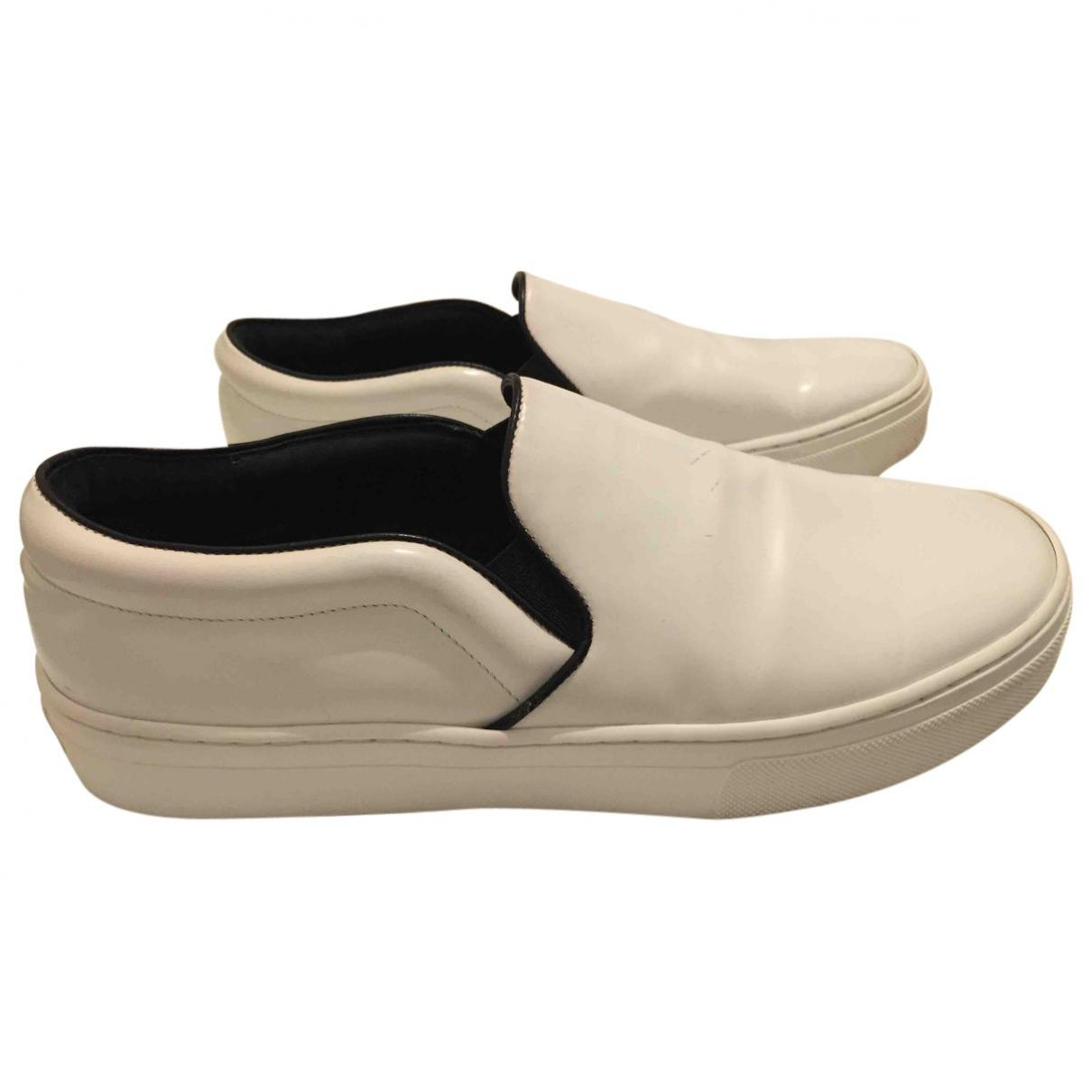 Pre-owned - Leather trainers Celine FZLcEz