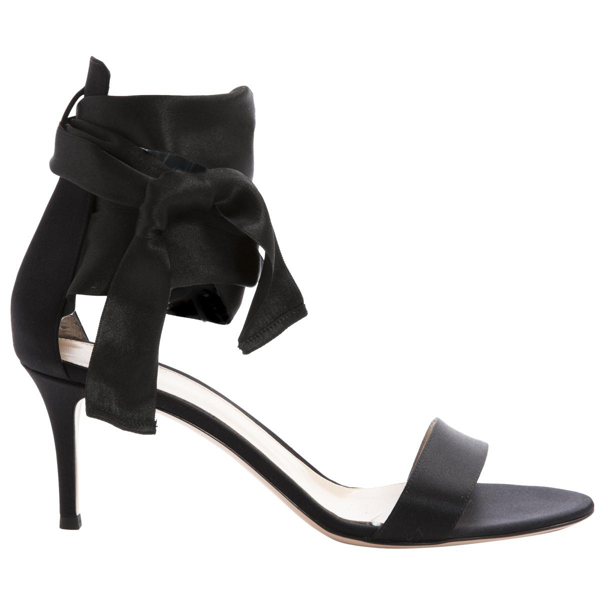 Gianvito Rossi Cloth Sandals