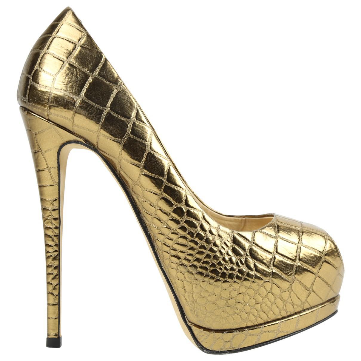 Pre-owned - Leather heels Giuseppe Zanotti UVAjF3hSYi