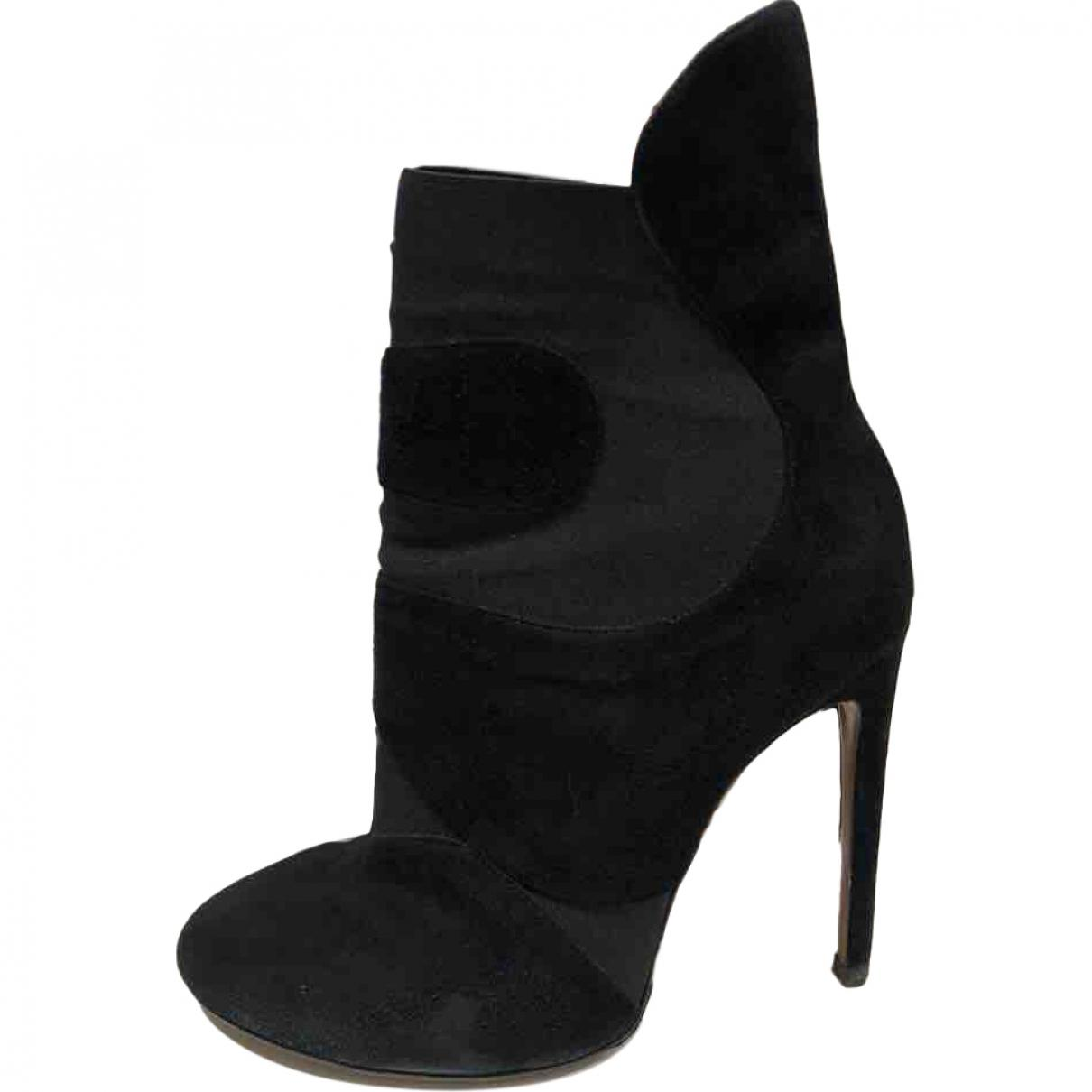 Pre-owned - Boots Alaia fMbKmIYf