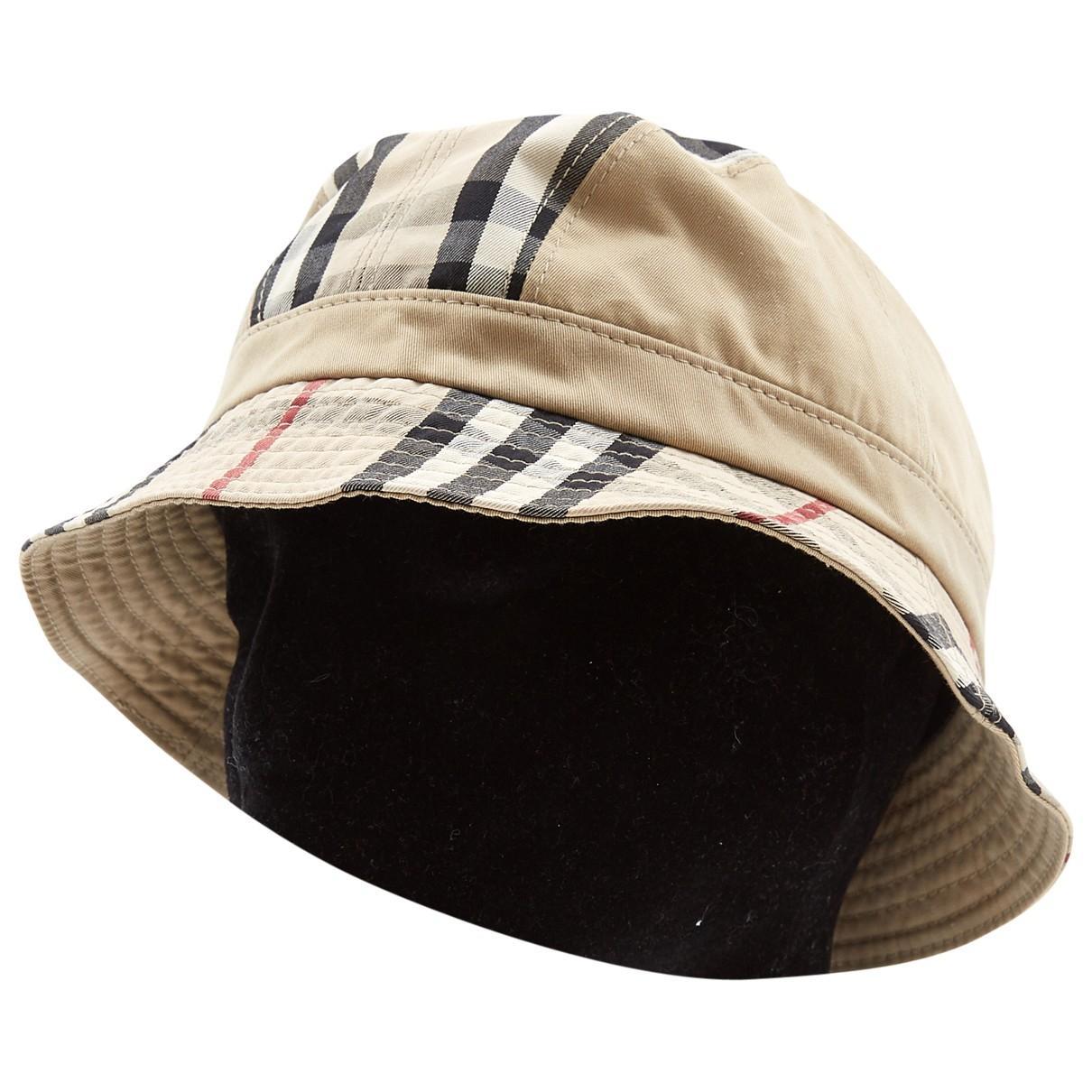 388c6473dec Burberry. Women s Multicolour Cotton Hats.  247  206 From Vestiaire  Collective