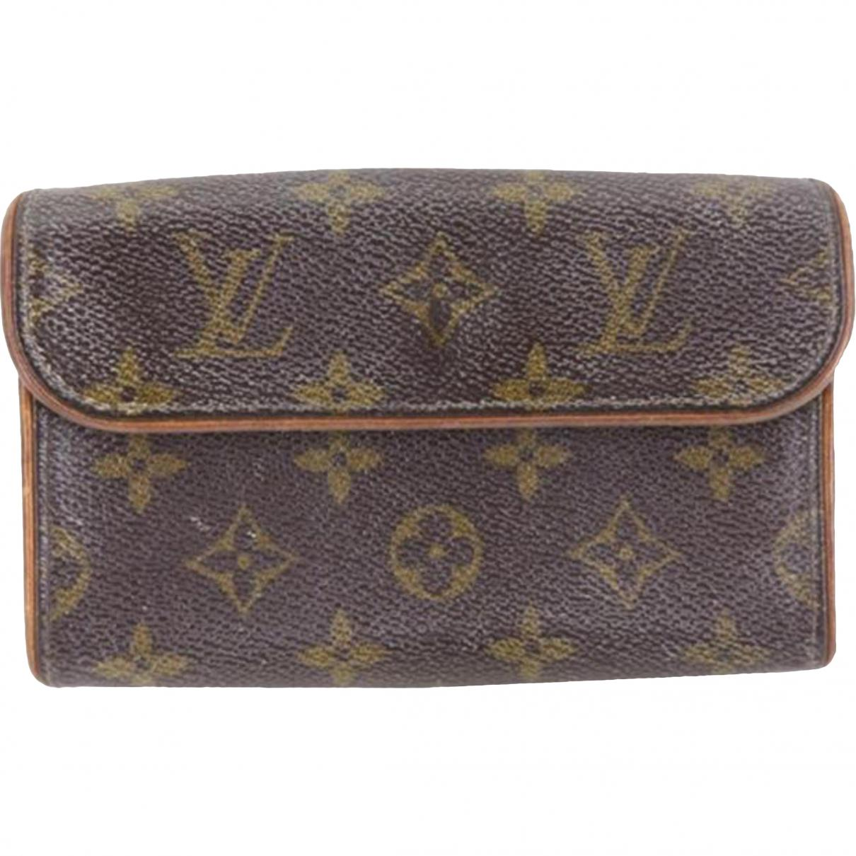 Pre-owned - Cloth clutch bag Louis Vuitton