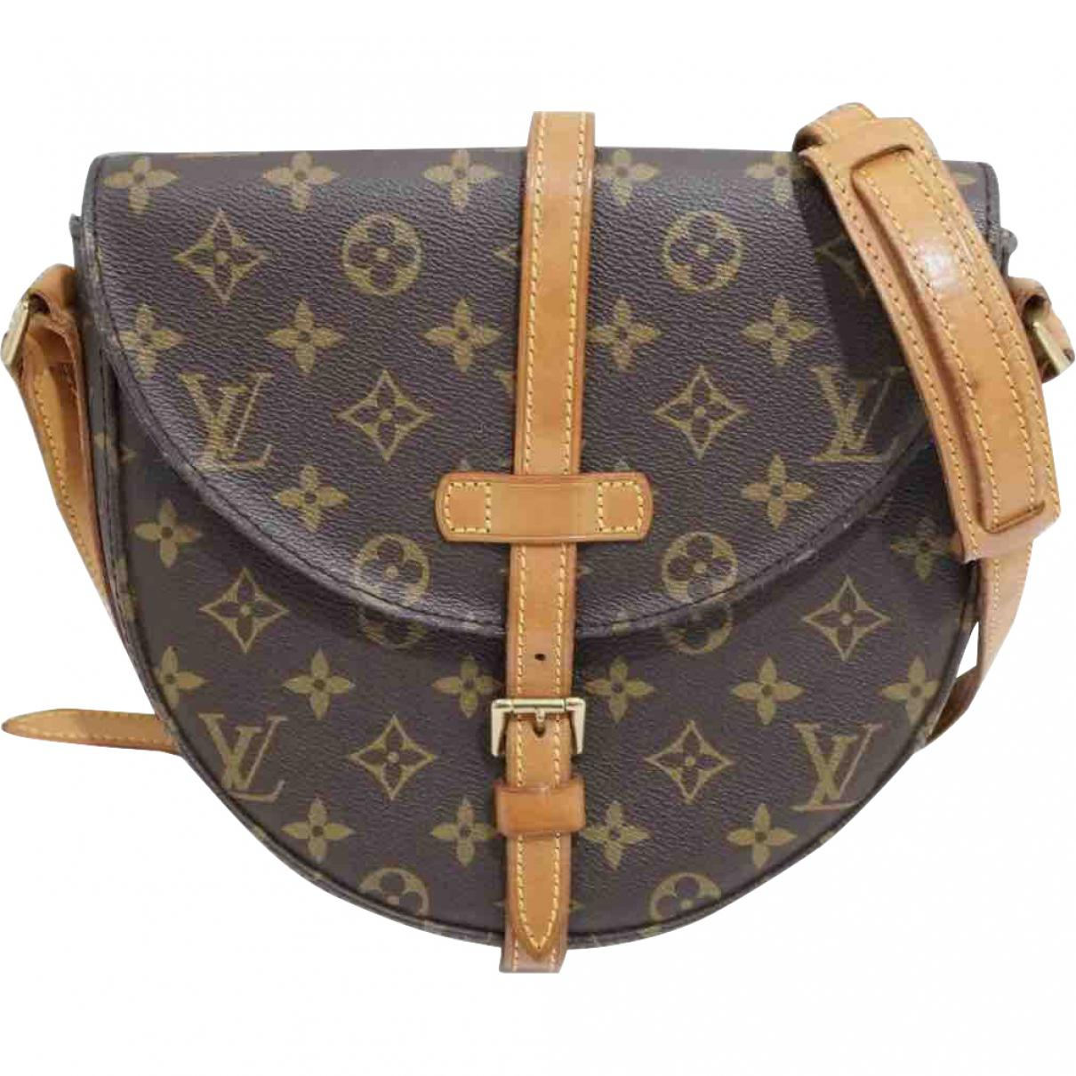 a9aef4b3af84 Lyst - Louis Vuitton Pre-owned Leather Crossbody Bag in Brown