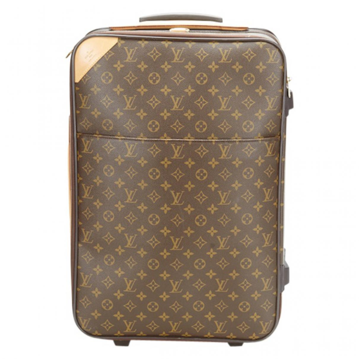 Pre-owned - Pegase cloth travel bag Louis Vuitton