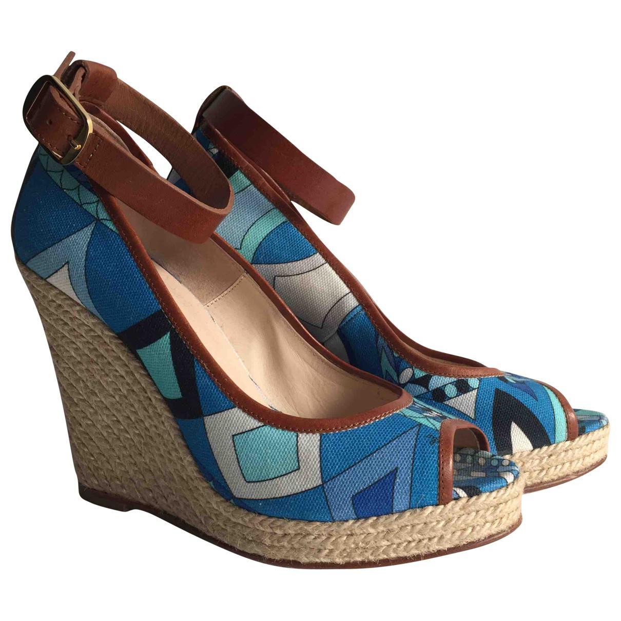 Pre-owned - Cloth sandals Emilio Pucci kjYhizV