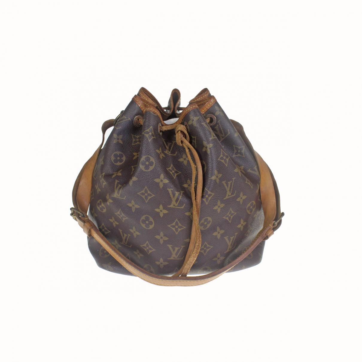 2f26204f9 Louis Vuitton. Women's Vintage Noé Brown Cloth Handbag. $407 From Vestiaire  Collective